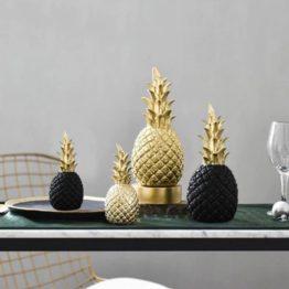 ananas sculpture résine