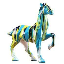 cheval coloré