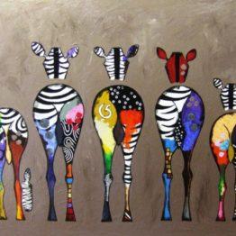 famille zebre