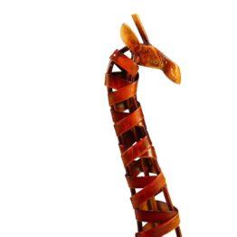 sculture girafe tête