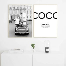 poster chanel
