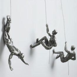 sculpture grimpeurs
