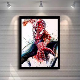 tableau spiderman